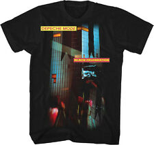 Depeche Mode-Black Celebration-X-Large Black Lightweight  T-shirt
