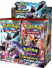 Pokemon XY Break Through Booster Packs- Factory Sealed - Free Shipping!