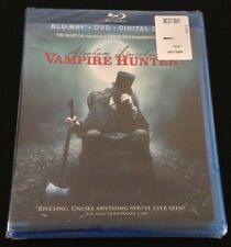 ABRAHAM LINCOLN VAMPIRE HUNTER Blu-Ray DVD UltraViolet iTunes Digital Copy New