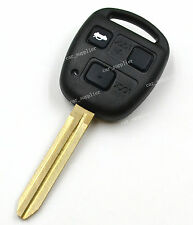 3 Buttons Remote Key Case Shell Housing Replacement Fob For Toyota Land Cruiser
