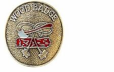 BOY SCOUTS OF AMERICA WOOD BADGE HIKING STAFF STICK SHIELD MEDALLION BSA NEW
