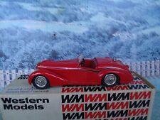 1/43 Western models  (England) Alfa Romeo 1938 8C 2900B spyder  white metal