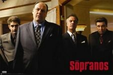 THE SOPRANOS POSTER The Wiseguys - NEW RARE COLLECTOR