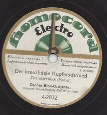 Blasorchester Carl Woitschach :  Die Mühle im Schwarzwald + Der kreuzfidele
