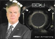 2010 Stargate Universe Season 1 Costumes Alan Armstrong Grey Suit Relic Card