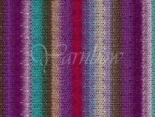 NORO ::Kureyon #349:: wool knitting yarn Fall-2014 Purple-Violet-Aqua-Nut-Magent