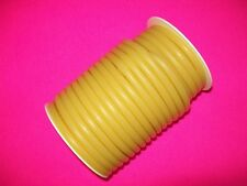 "New 50 Foot 1/4"" I.D x 1/16 w x 3/8"" O.D Latex Tubing Rubber Surgical Amber"