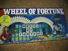 1986 Pressman Toy Corporation TV Game Show Wheel Of Fortune Board Game