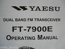 YAESU FT-7900E (GENUINE INSTRUCTION MANUAL ONLY).........RADIO_TRADER_IRELAND.
