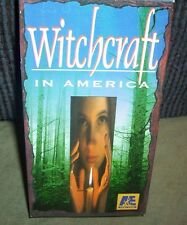 Witchcraft in America Salem Voodoo New Orleans VHS