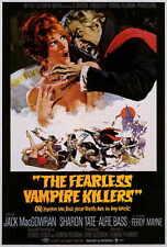 FEARLESS VAMPIRE KILLERS Movie POSTER 27x40 Jack MacGowran Roman Polanski Alfie