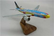 B-777 Peter Max Boeing 777 Airplane Wood Model Small