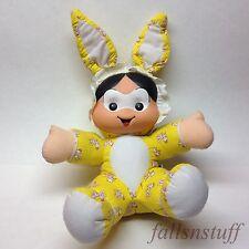 Turma Da Monica Gang Baby Doll Plush MAURICIO Multibrink Bunny Ear Brazilian