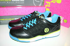 ZUMBA SHOES / TRAINERS - ENERGY PUSH - BLACK - SIZE US 9 EURO 40.5 - BRAND NEW