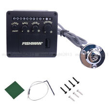FISHMAN 2 Band ACOUSTIC GUITAR PICKUP ONBOARD PREAMPS EQ DIY
