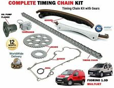 FOR FIAT FLORINO 1.3D MULTIJET + VAN 2008-  TIMING CHAIN KIT + GEAR SET + FLANGE