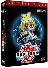 24742//  Bakugan Battle Brawlers - Saison 2 COFFRET 3 DVD NEUF 4H30