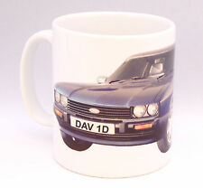 Classic Car Ford Capri Birthday Gift Personalised number plate Mug New Present