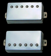 Guitar Part GUITARHEADS PICKUPS - ALNICO SUPREME PAF - HUMBUCKER SET 2 - CHROME