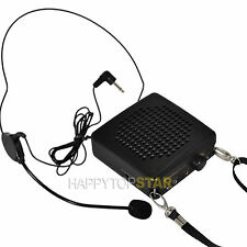 Rechargeable Loud Portable Voice Amplifier Headset Microphone for Guider Teacher