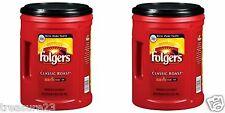Folgers 2 Pack Coffee Classic Roast 48 oz.Each