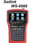 Satlink WS-6966 Satellite Finder Meter mpeg4 DVB-S2 HD Satellite Signal Finder