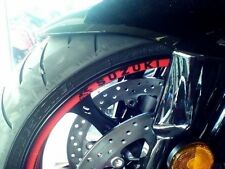 RED  GSX-R  Logo Rim Stripes / Tape  Suzuki  GSXR GSX-R1000 750 600 1100