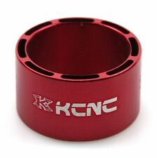 gobike88 KCNC Hollow Design Headset Spacer, 20mm, Red, Made in Taiwan, 638