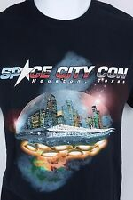 Medium Space City Comic Con Houston TX Star Destroyer Black T Shirt H Town