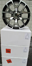 "20"" NEW GMC YUKON SIERRA CHEVY TAHOE FACTORY STYLE MACHINED BLACK WHEELS 5656"