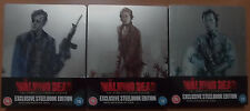 The Walking Dead Season 4,5,6 Exclusive LTd Edition Steelbook Blu Ray (NEW)
