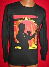 BILLY IDOL 2005 Devil's Playground Concert Tour Long Sleeve T-SHIRT L Punk Rock