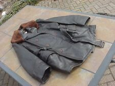 VINTAGE AVIREX LTD MILITARY AVIATOR PILOT TYPE LEATHER JACKET FLIGHT COAT