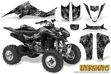 SUZUKI LTZ 400 KAWASAKI KFX 400 03-08 GRAPHICS KIT CREATORX DECALS INFERNO S