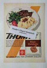 Werbeanzeige/advertisement A5: Thomy's Röst-Zwiebeln 1965 (29071625)
