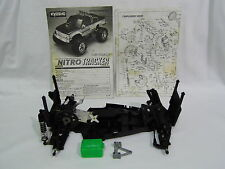 Vintage Kyosho Nitro Tracker 1/10 engine rc car chassis + manual