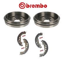 Toyota Celica Corolla Prius Brembo Rear Brake Drums + Shoe Kit 21137  753
