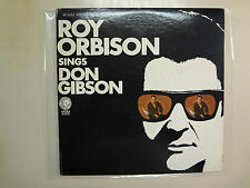 ROY ORBISON: Roy Orbison Sings Don Gibson-U.S. LP MGM PCV Autographed By Orbison