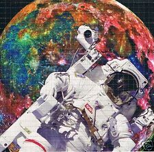 ASTRONAUT Perforated Blotter Art 30 x 30 = 900 hits LSD Acid New/Mint