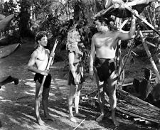 Johnny Weissmuller and Brenda Joyce photo - B3070 - Tarzan and the Leopard Woman