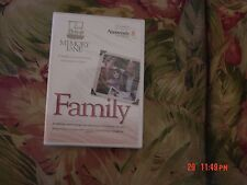 Family - Memory Lane (DVD, 2005) A smile, a connection, a moment of joy  NEW