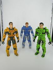 1986 VINTAGE LOT 3 CENTURIONS MAX RAY ACE MCCLOUD JAKE ROCKWELL ACTION FIGURES