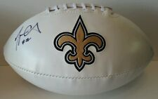 Marques Colston Autographed Signed Football New Orleans Saints JSA