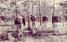 CADETS WITH 50-POUND PACKS LEARN SURVIVAL AT PRE-FLIGHT SCHOOL, ATHENS, GA