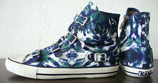 ASH VIRGIN Knöchel-Sneaker Damen Schuhe Chucks Camouflage Schnalle Gr.39 NEU