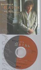 CD--BERNHARD BRINK -- ----WILL ICH OHNE DICH-