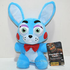 "6"" Bonnie BLUE Rabbit Five Nights At Freddy's Plush Funko Series 2 Hot Topic EXC"
