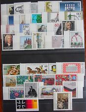 Germany Complete Year 1985 Stamp Set MNH German Stamps Mint Never Hinged
