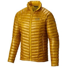 Mountain Hardwear Ghost Whisperer 800 Down Jacket Mens L LARGE INCA GOLD YELLOW