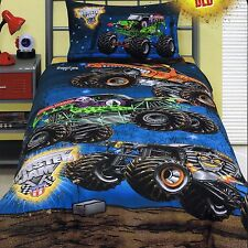 Monster Jam - Grave Digger - Single/US Twin Bed Quilt Doona Duvet Cover Set